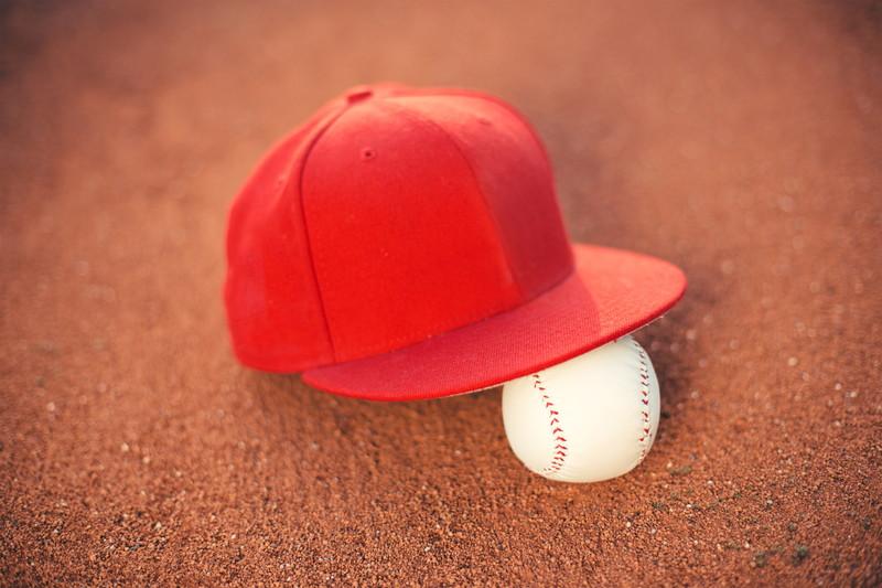 野球ボール 帽子